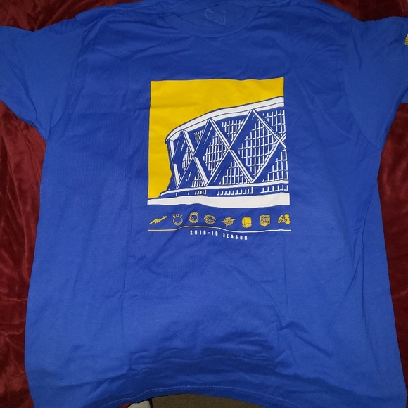 1ecf4a29d1be5 NBA Shirts | Golden State Warriors Oracle Arena T Shirt | Poshmark
